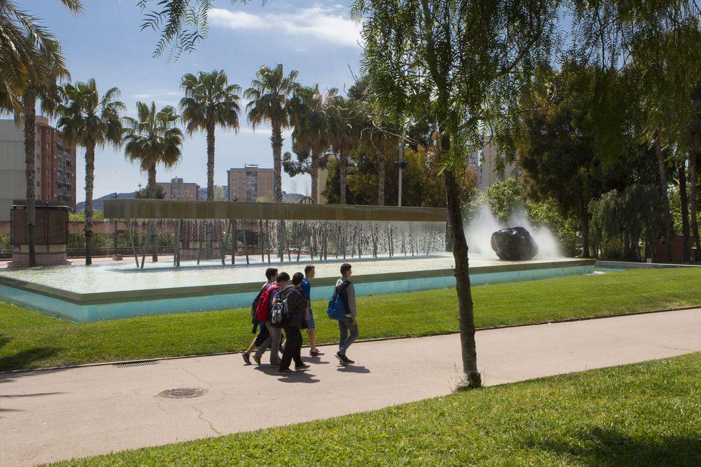 Parc de Josep M. Serra Martí. Zona de la font