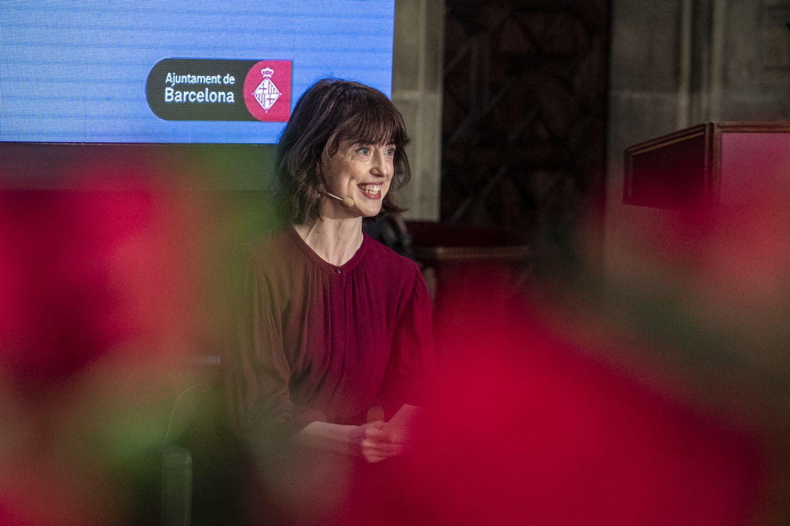 Pregó de la lectura de l'escriptora Irene Vallejo amb motiu de la diada de Sant Jordi